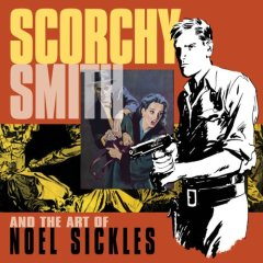 Noel Sickles Scorchy Smith Comic Strip Reprint book